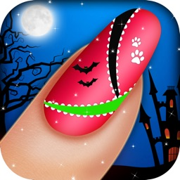Monster Nail Salon - Halloween Girls Nail Art