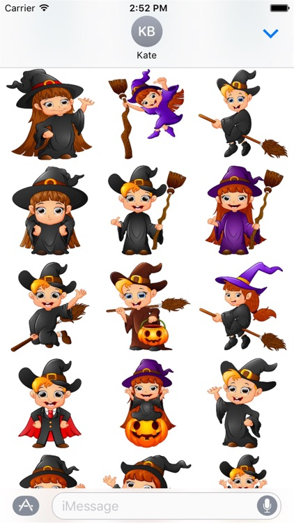 Halloween Stickers 2 screenshot-3