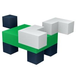 DIY Blocky Stickers