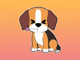 Dog Animated Stickers
