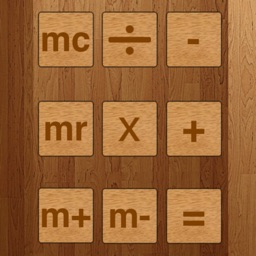 Wooden Calculator FREE