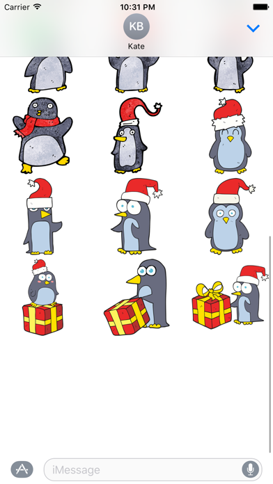 Christmas Penguins! The DoodleBomb Collection screenshot three