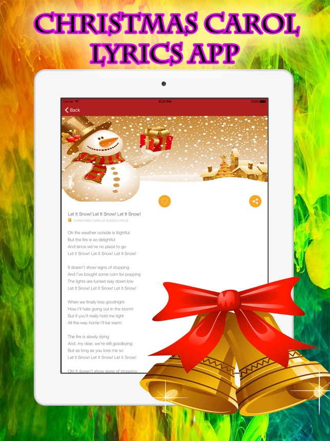christmas songs lyrics playlist carols for holiday on the app store