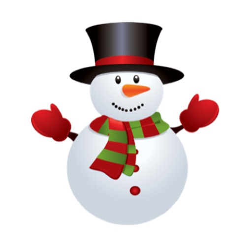 Snowman Stickers Pack iMessage Edition