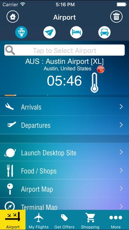 Airport Info Austin (AUS) + Flight Tracker