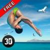 崖フリップダイビング水泳シミュレータ3D - iPhoneアプリ
