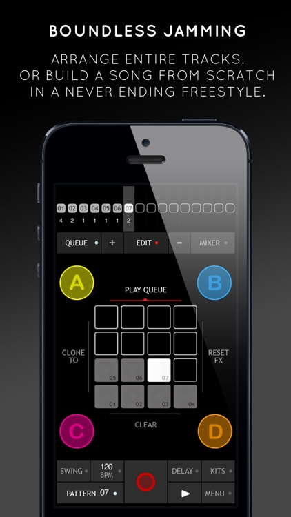 Triqtraq - Jam Sequencer: music making on the go screenshot-4