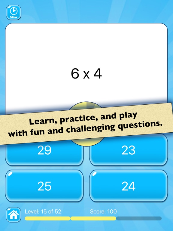 Multiplication Practice — Learn Basic Math Facts | App Price Drops