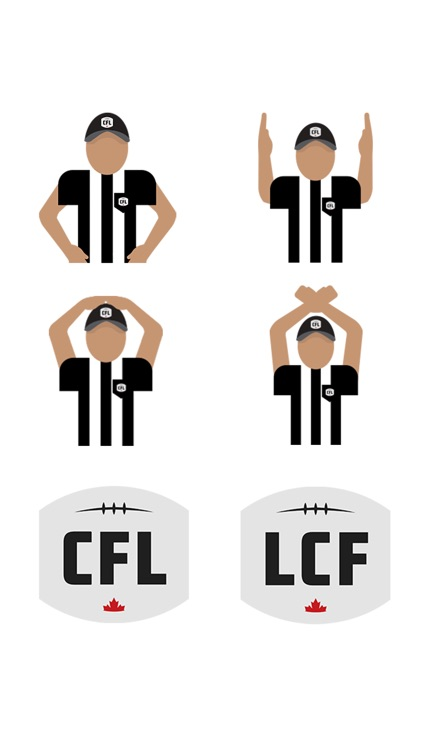 CFL Sticker Pack