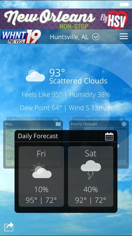 Live Alert 19 - Huntsville AL Weather