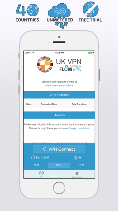 UK VPN with FREE Subscription screenshot two