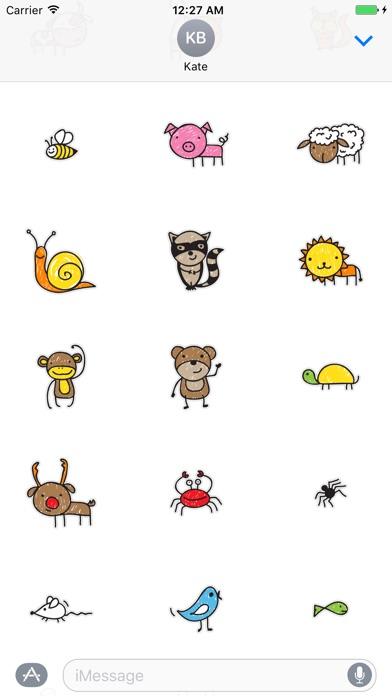 Kids Sticker Pack app image