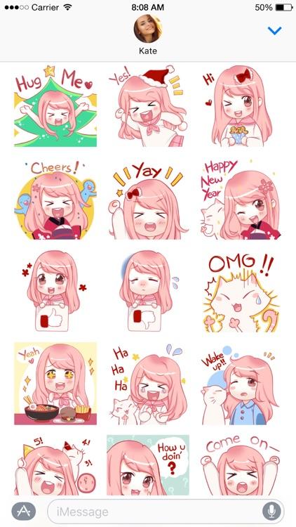 Hanako stickers screenshot-3