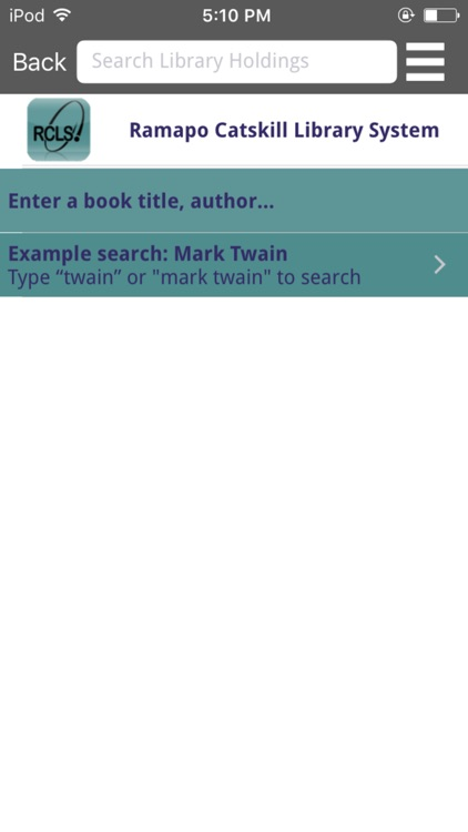Ramapo Catskill Library System Mobile screenshot-4