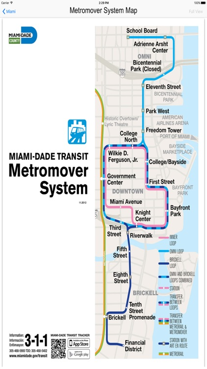 Miami Metro Rail Maps screenshot-1