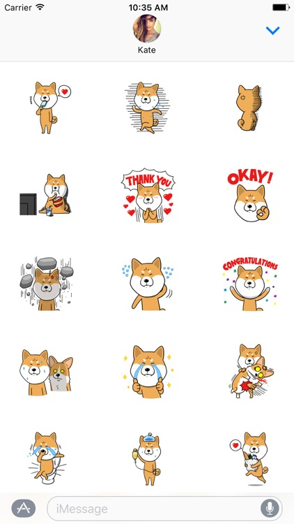 Shiba Inu Dog Sticker Pack screenshot-0