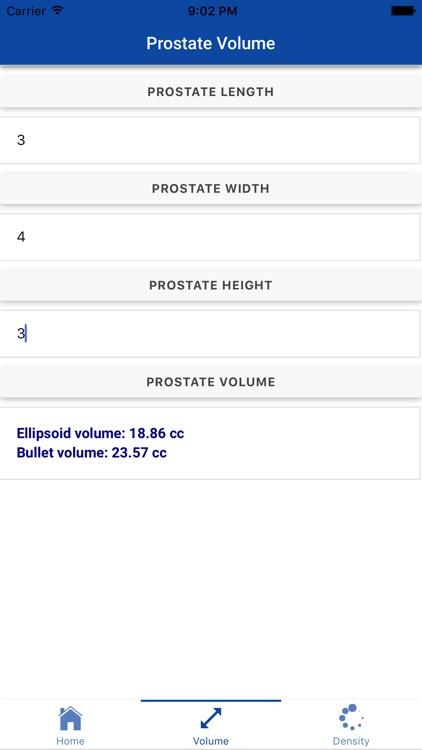 Prostate Volume and Density