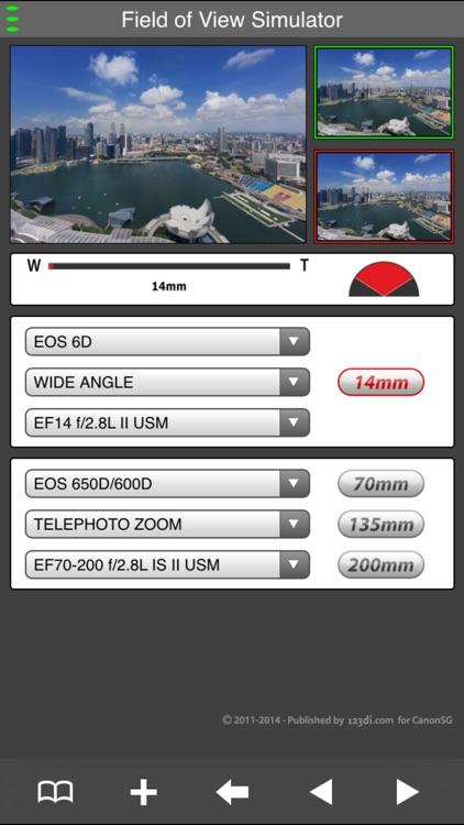 EF Lens Simulator Indonesia