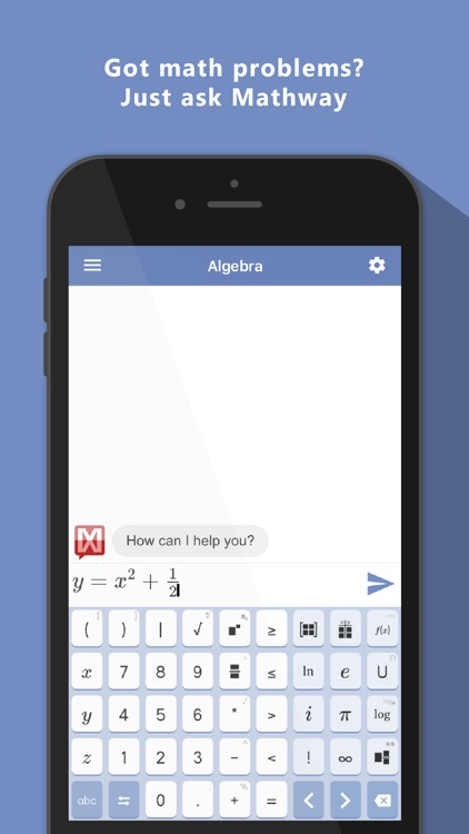 Mathway - Math Problem Solver app image