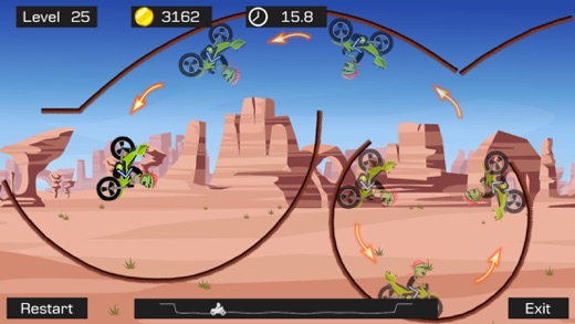 Top Bike - Best Motorcycle Stunt Racing Game Screenshot