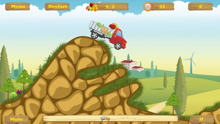 HappyTruck -- Fruit Express screenshot-2
