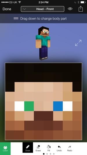Minecraft Skin Studio Im App Store - Minecraft skin editor jetzt spielen