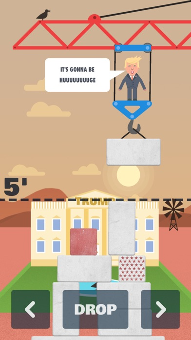 TRUMP'S WALL - Build it Huge Screenshot on iOS