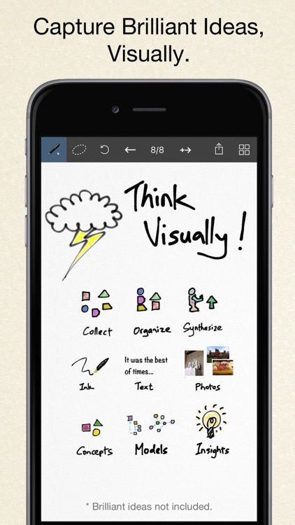 Inkflow Plus Visual Notebook