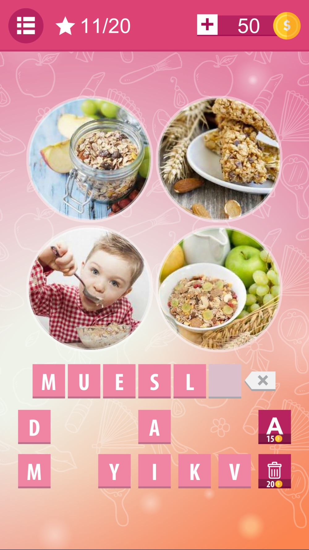4 Pics 1 Word Photo Quiz – new Pictures and Levels Cheat Codes