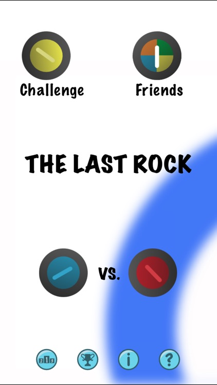 The Last Rock Curling