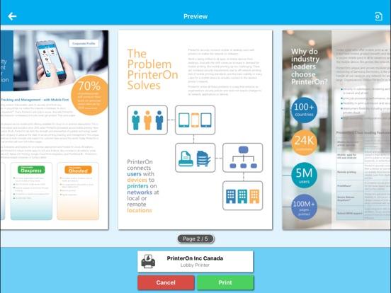 PrinterOn for AirWatch Скриншоты8