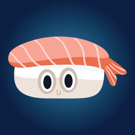 Sushi Stickers for iMessage #2