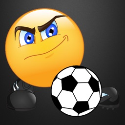 Soccer Emoticon Stickers
