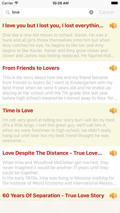 Audio Love Story Classic Romantic OfflineScreenshot of 2