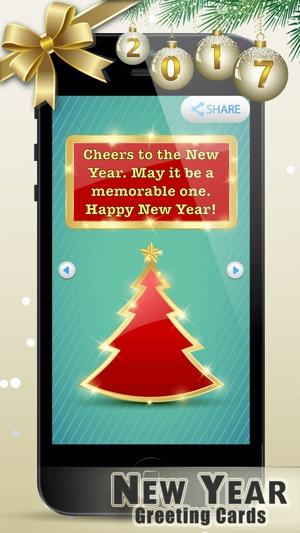 neujahr grua karte n 2017 beste wunsche auf bilder im app store