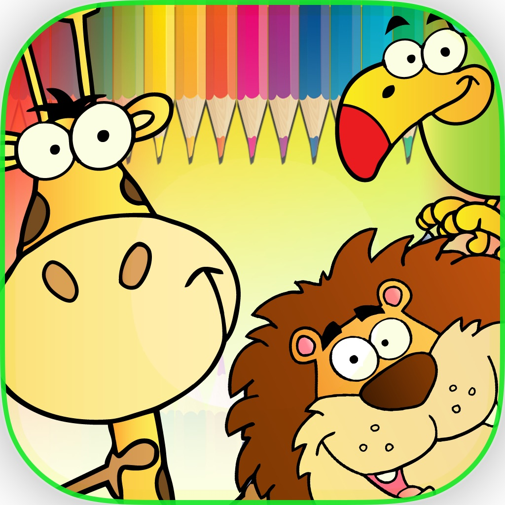 Animals Coloring Book - Finger Paint Book hack