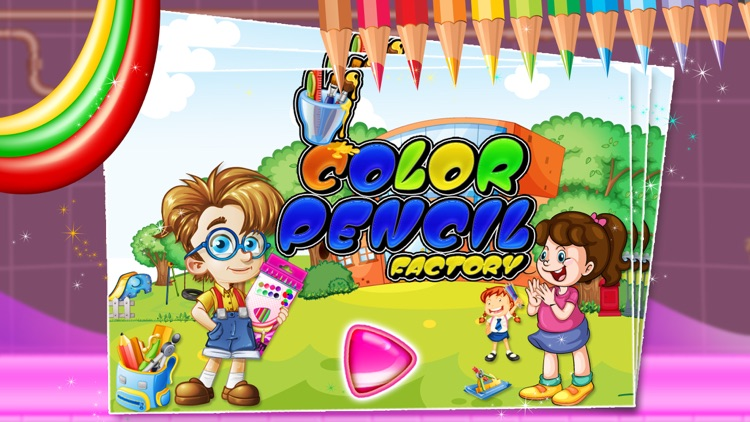 Color Pencil Factory – Make pencils with crazy fun