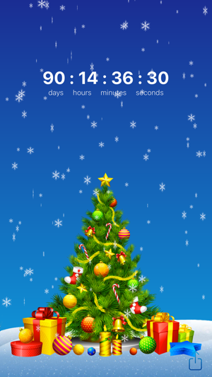 iPhone Screenshots - Christmas Countdown + Widget On The App Store
