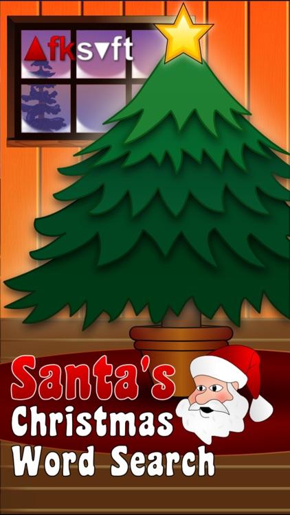 Santa's Christmas Word Search