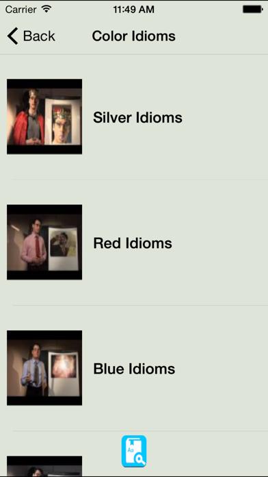 English Idioms Reference Learning Daily Idiom screenshot three