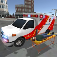 Ambulance Games Driving Sim 3D