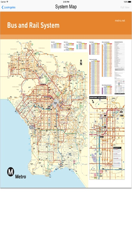Los Angeles - Bus Rail Metro and Street View Maps screenshot-2