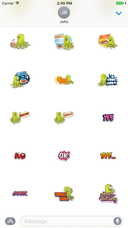 Omnitoons Sticker Pack screenshot-3