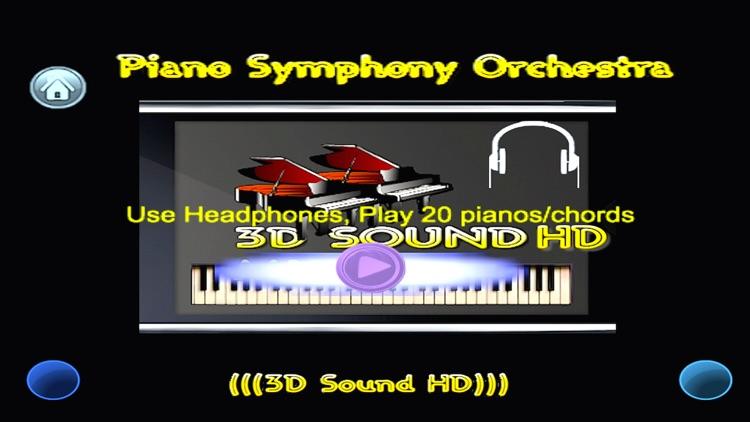 Piano Symphony Orchestra (3D Sound HD)