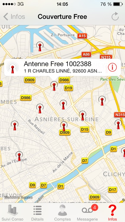 Mon compte pour Free Mobile - Conso & Messagerie screenshot-3