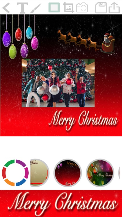 Christmas cards - create happy new year cads
