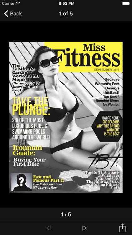 Miss Fitness Magazine