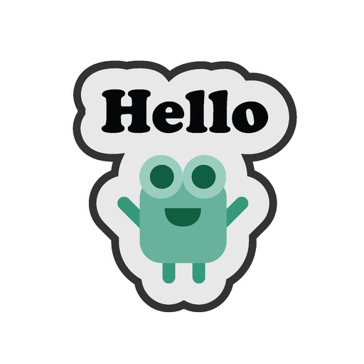 Mini Monster Text Emoji Stickers For iMessage