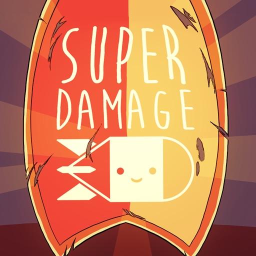 Super Damage Stickers