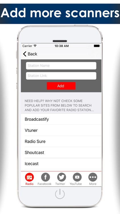 Police radio scanners - The best radio police scanner , Air traffic control , fire & weather scanner report from online radio stations screenshot-3
